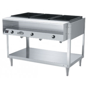 Vollrath 38003 Servewell Electric 3 Well Hot Food Table
