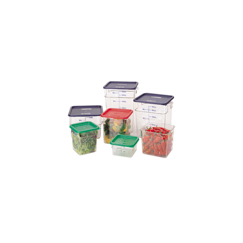 Cambro 8SFSCW135 Food Storage Container, Square, Camwear 8 Qt. |   Jeans  Restaurant Supply