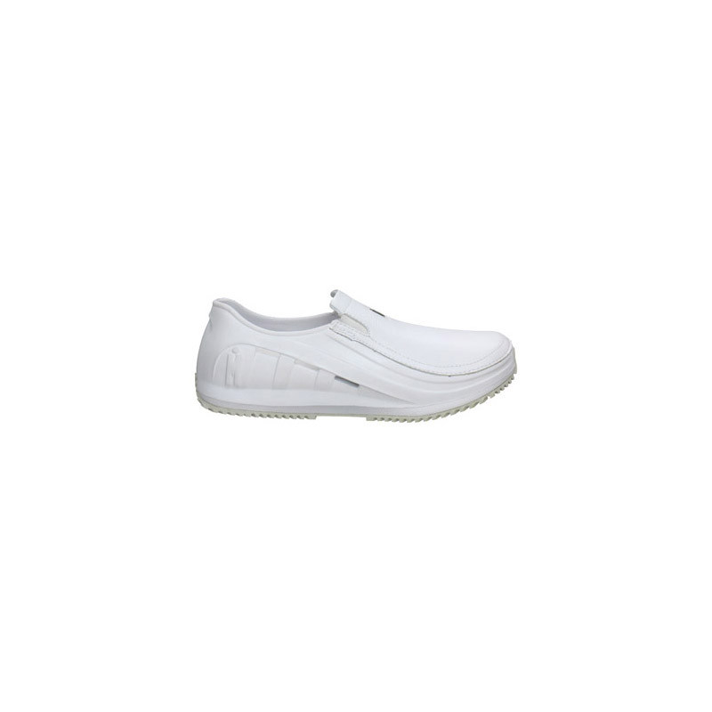 Mozo 3716 10 Sharkz Women S Slip Resistant Shoes With Side Ventilation White Size 10
