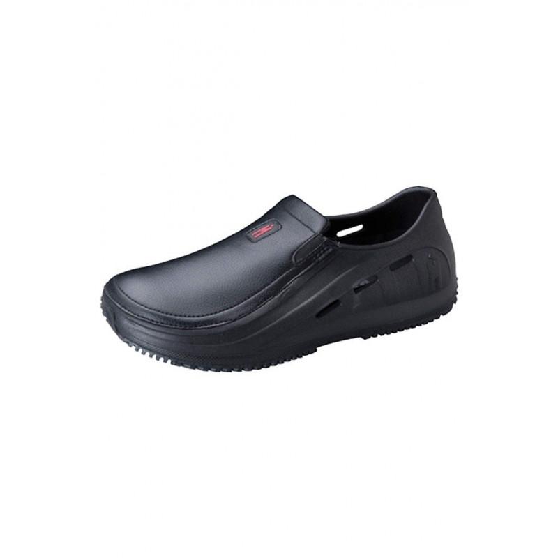 Mozo M43812 10 Sharkz Men S Slip Resistant Shoes With Side Ventilation Black Size 10