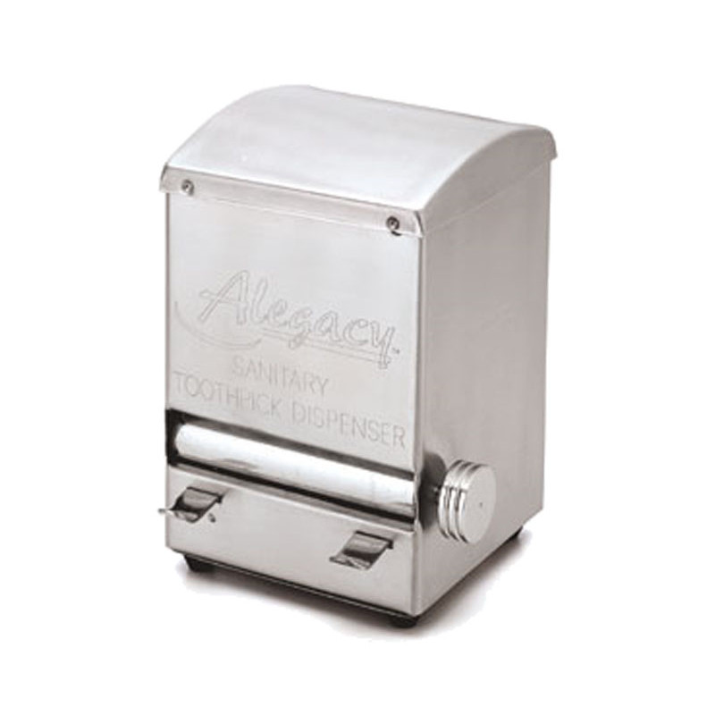 Alegacy Altd5 Stainless Steel Toothpick Dispenser Jeans Restaurant Supply