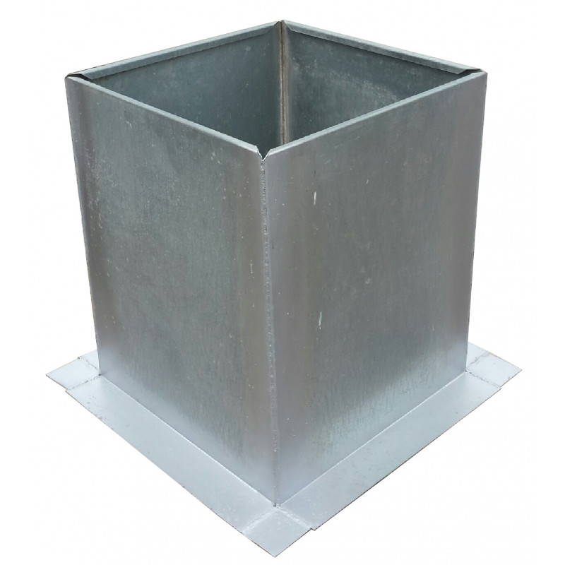 Flash19 Roof Curb Flashing 19 5 Quot X 19 5 Quot 20 Gauge