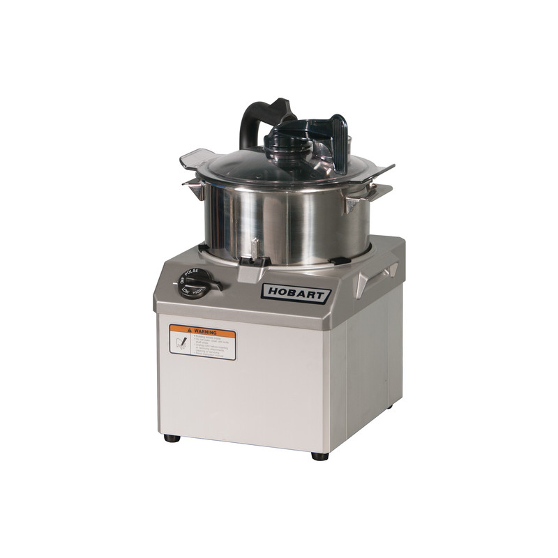 Hobart Hcm62 1 Two Speed Bowl Style Food Processor 6 Qt 2 Hp