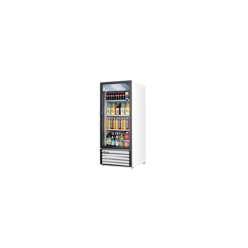 Everest Emgr10 Merchandiser Refrigerator White With One