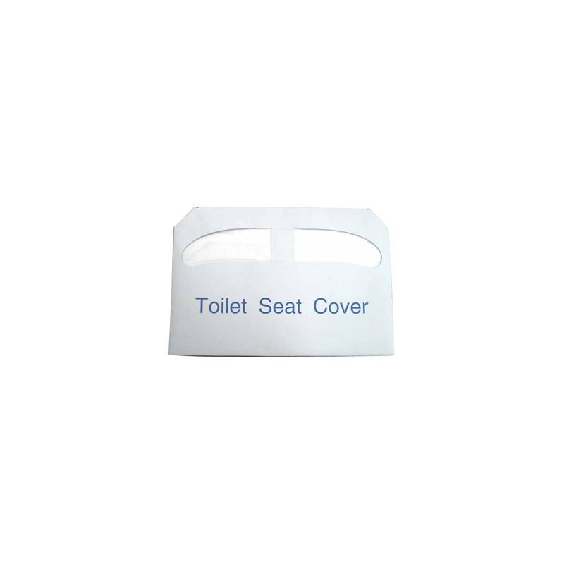 Winco TSC-250 Half Fold Toilet Seat Cover Paper - 250 pc/bag