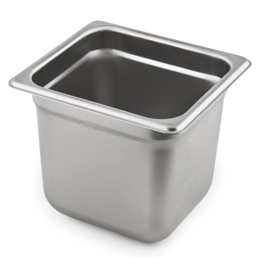 Vollrath 20669 Stainless Steel Table Pan Anti Jamming 1 6