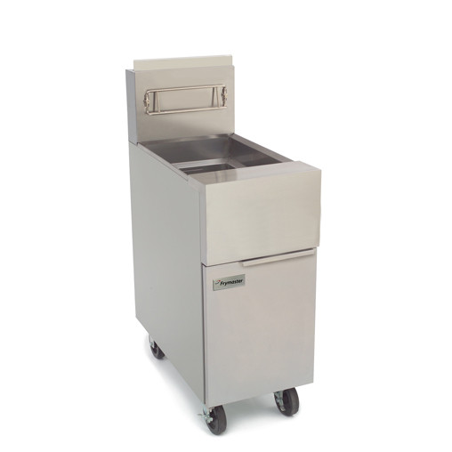 Frymaster GF40 NG Natural Gas Floor Fryer with Millivolt Controls and  Temperature Probe, holds 50 lbs. - 122,000 BTU | - Jeans Restaurant SupplyJean's Restaurant Supply