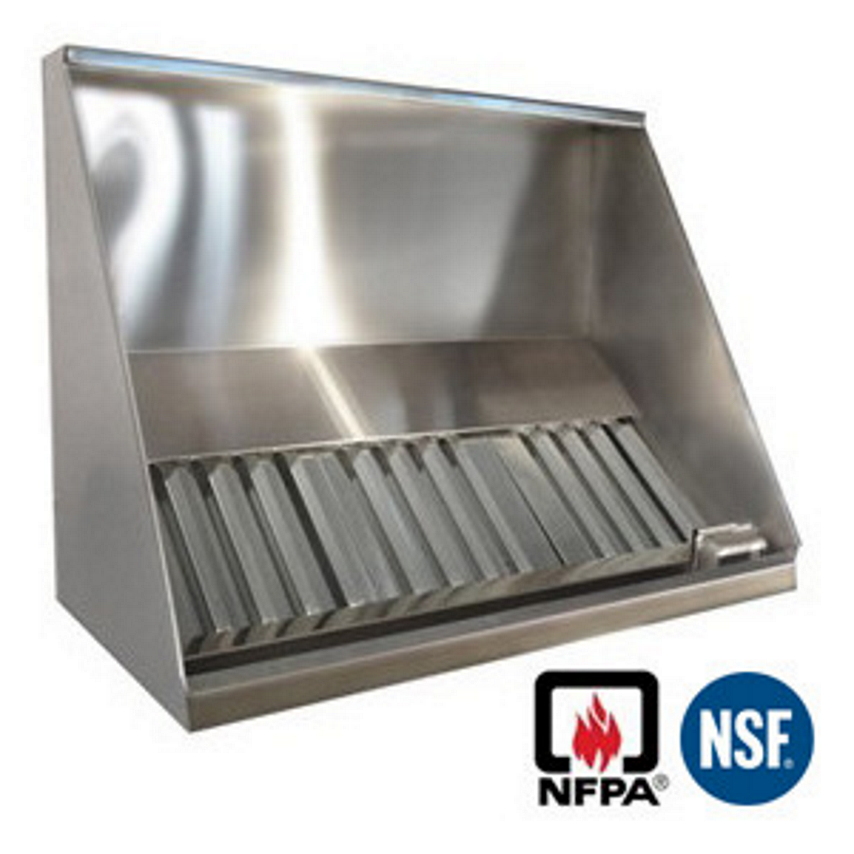 Exhaust Hoods Product ~ Jrsvhc concession exhaust vent hood shallow front