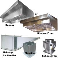 Vent Hoods Canopy, Shallow Front and Concession | commercial